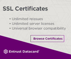 Shop Standard SSL Certificates from Entrust Datacard