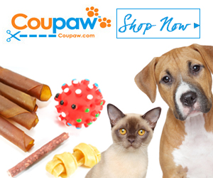 Coupaw Shop Now Banner