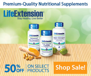 Life Extension Discount Code 2017 - 50% Off
