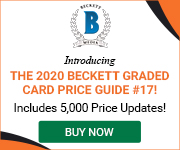 Beckett Graded Card Price Guide #17 180*150