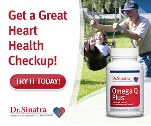 Help improve heart health with Dr. Sinatra's oil blend.