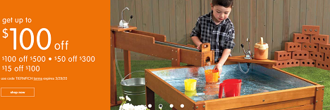 PLAY & LEARN PRODUCTS ON SALE! Save Up To $100 OFF Plus Free Shipping On Orders Over $99!