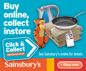 Sainsbury's Click & Collect - 300x250
