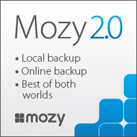 Mozy 2.0 Local+Online=Best of Both Worlds