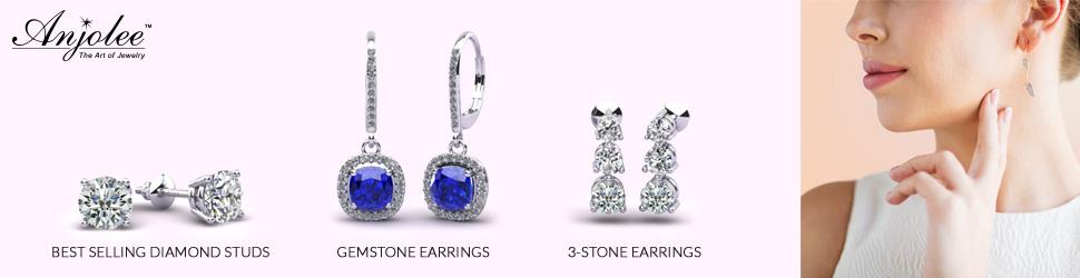 Diamond earring Jewlery online