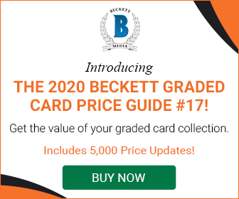 Beckett Graded Card Price Guide #17 336*280