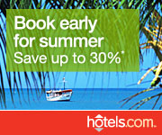 Book Early for Summer and Save up to 30%!