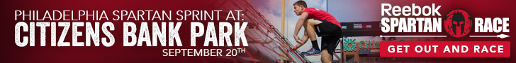 Philadelphia Spartan Sprint at Citizens Bank Park, September 20, 2014, Sign Up Now for this Reebok S