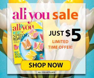 All You $5 Subscription Sale_300x250