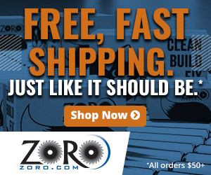 Fast Shipping. Just like it should be on orders $50+ at Zoro.com