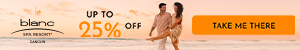 Warm up your winter. Stop Dreaming, Start Planning. Up to 25% off all-inclusive luxury at Le Blanc S
