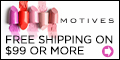 Motives Cosmetics - Free Shipping on $99 purchase at MotivesCosmetics.com.