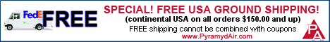 Free Ground Shipping for Airsoft Guns