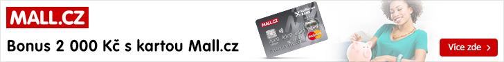 MALL.CZ: Bonus 2000 Kč s kartou Mall.cz