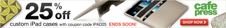 728x90 iPad case promo banner
