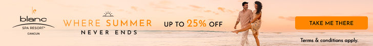 Holiday Warm Up! 30% off all-inclusive luxury at Le Blanc Spa Resort. Book Now.