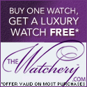 Buy a watch get a luxury watch free @ the Watchery
