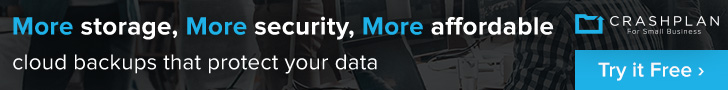 crashplan unlimited backup banner