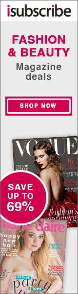 Save up to 50% off your favourite fashion magazines
