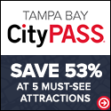 Save up to 49% or more on Tampa Bay's 5 best attractions at CityPASS.com - Shop Now!