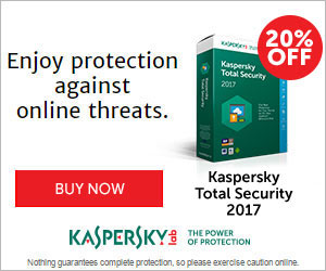 20% off Kaspersky Total Security