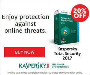 20% off Kaspersky Internet Security