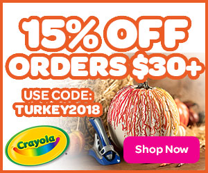 15% Off $30+ with TURKEY2018