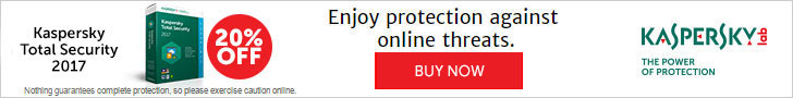 20% Off Kaspersky Total Security