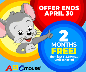 Get 2 Months FREE of ABCmouse.com!