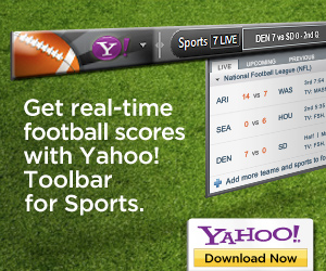 Yahoo! Sports Toolbar NFL - 300x250