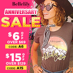 Bellelily Anniversary Sale Get Up To $30 Discount!