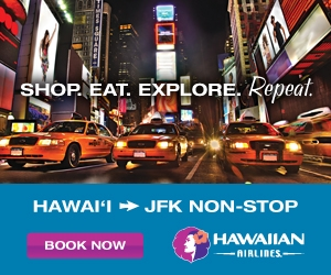 Honolulu to JFK non-stop!
