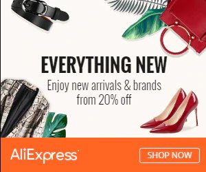 #fashions,Enjoy New Arrivals & Brands from 20% off! Use code SHOPNEW to get $3 off $20 on AliExpress