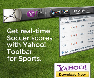 Yahoo! Sports Toolbar MLS - 300x250
