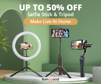 Image for Up to 50% OFF for Selfie Stick & Tripod