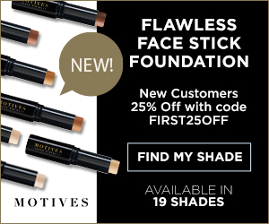 Motives Cosmetics Flawless Face Foundation Stick.  New Customers 25% Off.