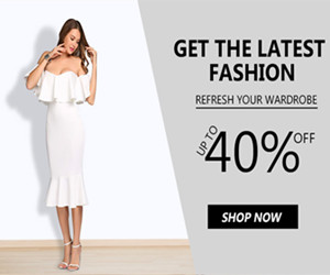 GET THE LATEST FASHION//UP TO 40% OFF//REFRESH YOUR WARDROBE