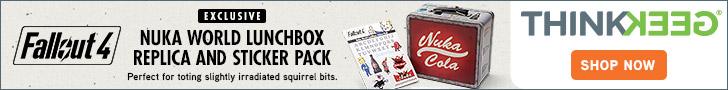 ThinkGeek - Fallout 4 Nuka World Lunchbox Replica