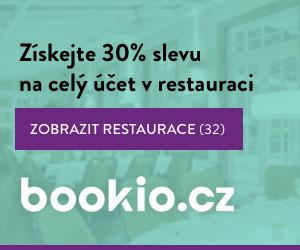 Bookio.cz - Získejte 30% zla celý účet v restauraci.