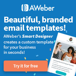 Try AWeber