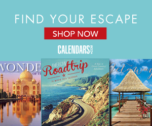 Shop Travel & Scenic Calendars Today!