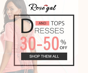 DRESSES And TOPS: 30-50% OFF+ FREE SHIPPING