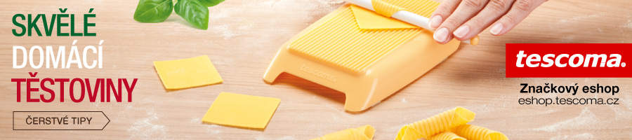 TESCOMA: Skvělé domácí těstoviny. Čerstvé tipy />&#8220; width=&#8220;900&#8243; height=&#8220;200&#8243; border=&#8220;0&#8243;></a></p> <p><span style=