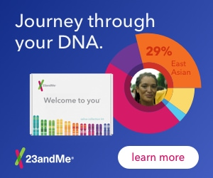 23 And Me provides DNA information at affordable prices... what's your heritage? Recommended by staff members at KBUX