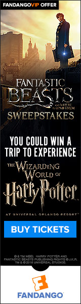 Fantastic Beasts Sweepstakes