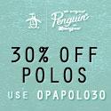 Shop Original Penguin 40% OFF Polos, Outerwear an
