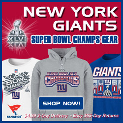 Shop 2012 Super Bowl and 2011 Champion Gear!