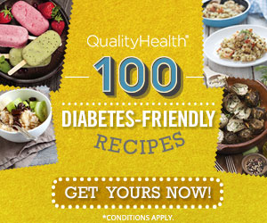 FREE Diabetes-Friendly Recipes from QualityHealth!