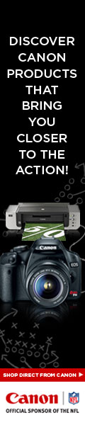 Shop Direct From Canon Official Sponsor of the NFL