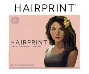 Hairprint Woman's Treatment Kit for Restoring Gray Hair